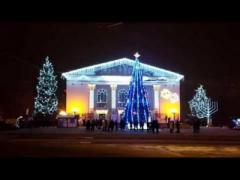Мариуполь потратит 5 миллионов гривень на новогодние мероприятия и иллюминацию