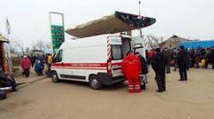 В очереди перед КПВВ «Станица Луганская» умер мужчина