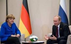 Меркель обсудит с Путиным эскалацию в Азовском море на саммите G20
