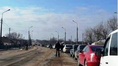 На Каргиле около 300 машин на выезд. На Октябре хорошее движение