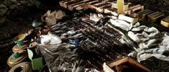 СБУ на Донетчине выявила схрон с военными средствами поражения (Видео)