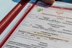 В «ДНР» заявили, что выдали 4 тыс. свидетельств о браке