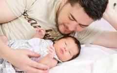 Мужчина родил ребенка