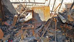 В Донецке из-за обстрела повреждены 5 жилых домов