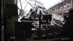 В «ДНР»: В одном из цехов Макеевского меткомбината обрушилась крыша