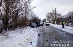 В Донецкой области автобус столкнулся с легковушкой: Трое погибших