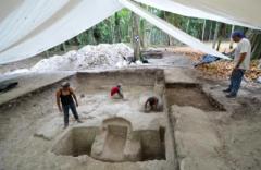 Найдена древнейшая сауна майя