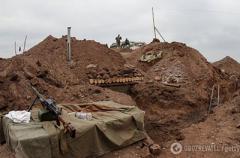В Луганской области террористы подорвали машины с украинскими военными