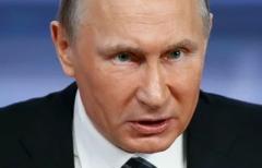 В России рекордно упал рейтинг Путина
