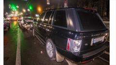 В Киеве по вине пьяного водителя столкнулись пять машин