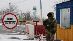 Ситуация на КПВВ Украины: на «Майорское» нет очереди