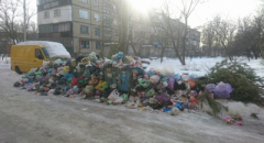 Донецк превращают в свалку. Местные жители публикуют свежее фото