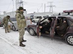 Донбасская линия разграничения: утром 20 января самые большие очереди были у КПВВ «Марьинка»