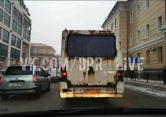 """Процветающая """"республика"""": жители поделились фото гнилых пассажирских автобусов в Донецке"""