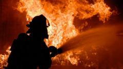 В Макеевке на месте пожара обнаружено тело погибшего