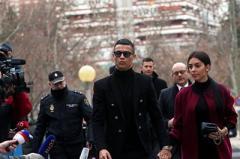 """Роналду оштрафовали и """"посадили"""" условно на два года"""