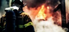 На пожаре в «ЛНР»погиб мужчина
