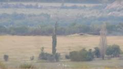 Мысягин показал, как бойцы ВСУ уничтожили позицию НВФ при помощи «птичек». ВИДЕО