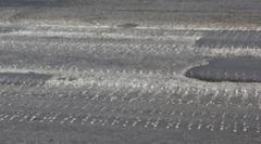 На улицах Донецка замечены свежие следы траков
