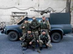По Донецку разъезжают боевики «ДНР» на джипах с пулеметами