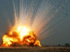 В центре Донецка произошел мощный взрыв