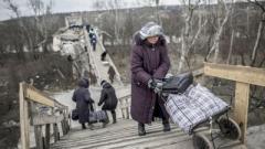 На КПВВ «Станица Луганская» люди массово теряют сознание