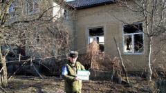 В ОРДО подверглось обстрелу село Васильевка: повреждены дома и автомобили