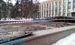 Что случилось с Советской площадью в Донецке