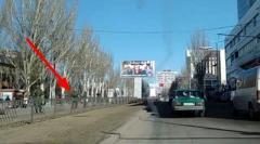 В Донецке большое число боевиков «ДНР» на дорогах. Встречают «кого-то важного»