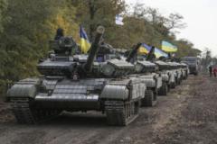 """Танковый прорыв ВСУ закончился разгромом """"россиян"""": силы ООС срочно подняли в воздух боевую авиацию и штурмовики """"Су-25"""". ВИДЕО"""