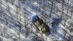 ВСУ нанесли мощный удар по танкам «ЛНР». ВИДЕО