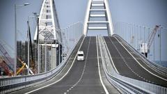 «Нам так удобнее»: в РФ отреагировали на декларацию по Крымскому мосту