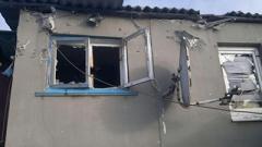 В Киевском районе Донецка обстрелом поврежден жилой дом