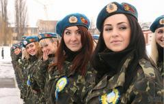 Украинским девушкам разрешили учиться в военных лицеях