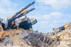 В сети показали на фото, что осталось от позиции боевиков после мощного удара ВСУ