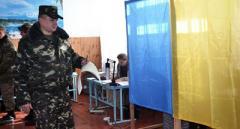 Военные ООС смогут проголосовать на специальных избирательных участках, с сегодняшнего дня такие существуют