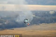 """ВСУ превратили технику врага в огромный факел - военные """"слили"""" в Сеть кадры меткого удара. ВИДЕО"""
