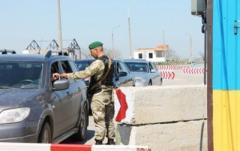 Украина усилила безопасность на границе с Крымом