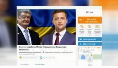 Уже продаются билеты на дебаты Порошенко и Зеленского