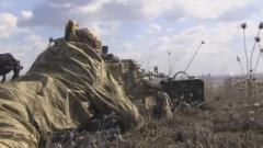 В сети появилось видео боя, снятое на позициях ВСУ на Луганщине. ВИДЕО