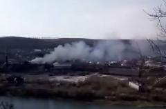 Пожар в Черновицкой области: пламенем объят сахарный завод
