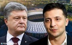 Порошенко, Зеленский и ЦИК не могут согласовать время и место дебатов