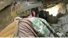 Бойцы ВСУ показали новые позиции, занятые ими на Донетчине. ВИДЕО