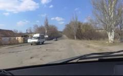 Горловка — красивый город, но не сейчас: местный житель снял поездку на Комсомолец и Бессарабку. ВИДЕО