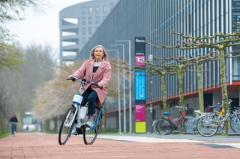 "В Нидерландах создали ""велосипед-неваляшку"" (ВИДЕО)"