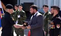 Пушилин вручил «награды» членам НВФ из подразделения «Спарта»