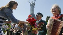 В акциях ко Дня победы над нацизмом приняли участие 700 тысяч украинцев
