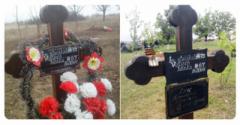 """Что бывает с теми, кто умирает за """"ру***ий мир"""": фото нищих заброшенных могил боевиков потрясли Сеть"""