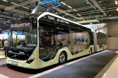 Volvo начинает серийное производство электробусов