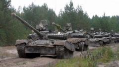 Боевики «ДНР» размещают танки в н.п. Петровское